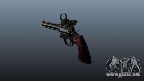 Revólver Colt Python 357 Aimshot para GTA 4 segundos de pantalla