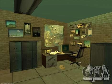 Nuevas texturas para interior para GTA San Andreas quinta pantalla