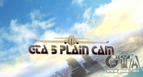 Plain Cam para GTA San Andreas quinta pantalla