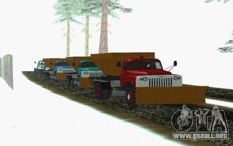 53 GAS soplador de nieve para la visión correcta GTA San Andreas