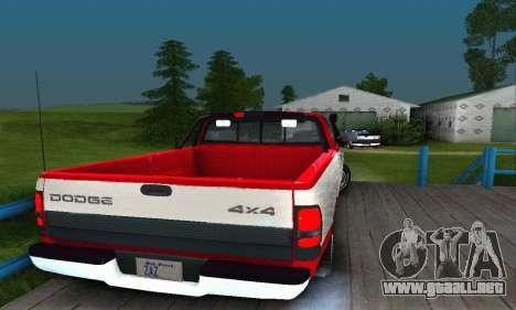 Dodge Ram 2500 para GTA San Andreas left