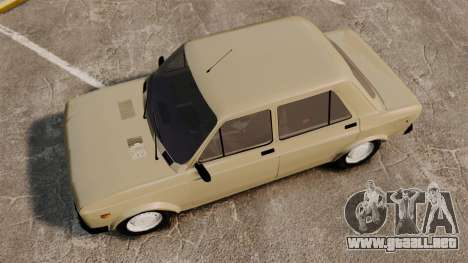 Zastava Yugo 128 para GTA 4 visión correcta