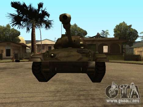M24-Chaffee para GTA San Andreas left