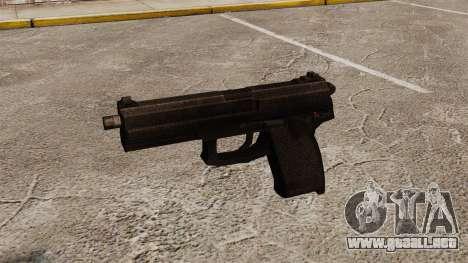 H & K MK23 Socom pistola semi-automática para GTA 4 tercera pantalla