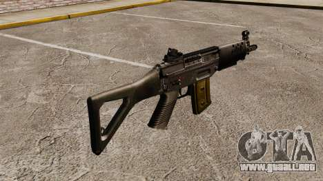 Fusil SIG SG 552 para GTA 4 segundos de pantalla