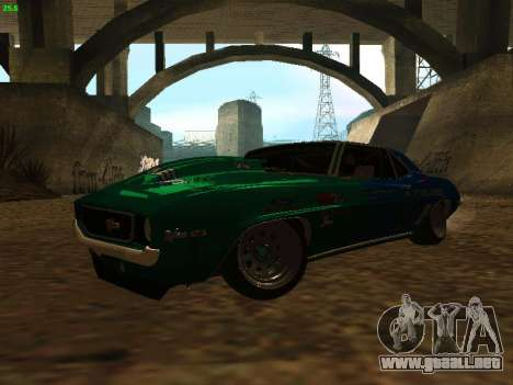 Chevrolet Camaro z28 Falken edition para GTA San Andreas left
