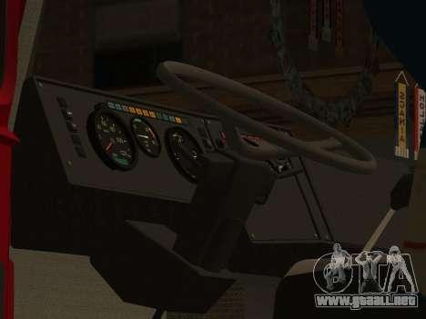 MAZ 5432 para visión interna GTA San Andreas