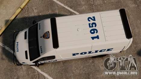 Mercedes-Benz Sprinter 2500 Prisoner Transport para GTA 4 visión correcta
