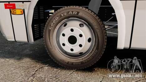 Marcopolo Senior LO-916 BlueTec Euro V para GTA 4 vista hacia atrás