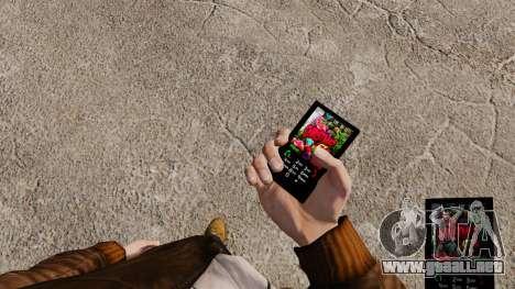 Tema de Navidad para tu teléfono para GTA 4