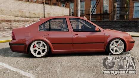 Volkswagen Bora VR6 2003 para GTA 4 left