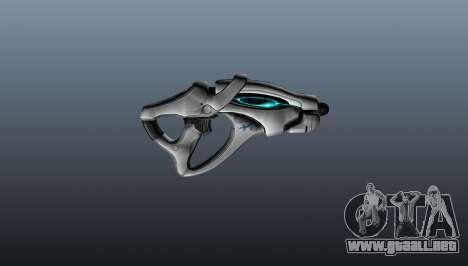 Pistola escorpión para GTA 4 tercera pantalla