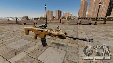SMALL BUSINESS SERVER 5.56 rifle de asalto para GTA 4