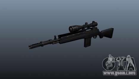 El fusil semiautomático M14 para GTA 4