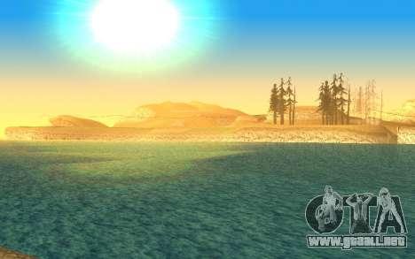 Timecyc v2.0 para GTA San Andreas sucesivamente de pantalla