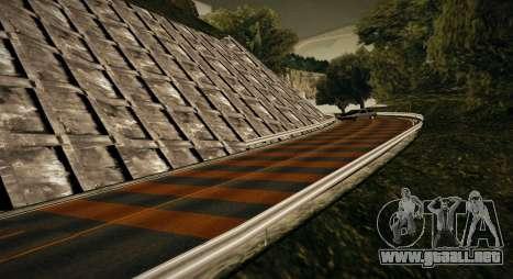 Mappack v1.3 by Naka para GTA San Andreas sucesivamente de pantalla