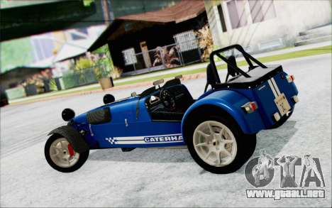 Caterham R500 Superlight 2008 para GTA San Andreas left
