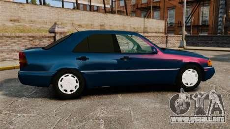 Mercedes-Benz C220 W202 v2.0 para GTA 4 left