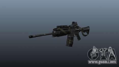 M4 Carbine Sopmod señores para GTA 4