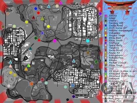 Mappack v1.3 by Naka para GTA San Andreas quinta pantalla