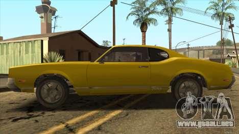 Sabre HD from GTA 3 para GTA San Andreas left