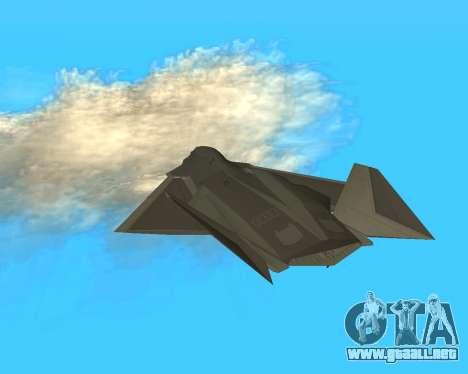 FA-37 Talon para visión interna GTA San Andreas