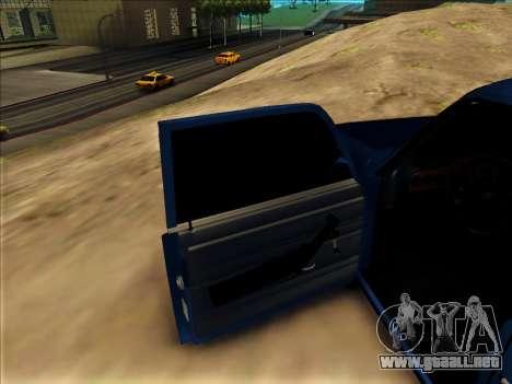 VAZ 2106 para la visión correcta GTA San Andreas