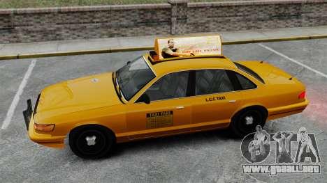 Real publicidad en taxis y autobuses para GTA 4 twelth pantalla