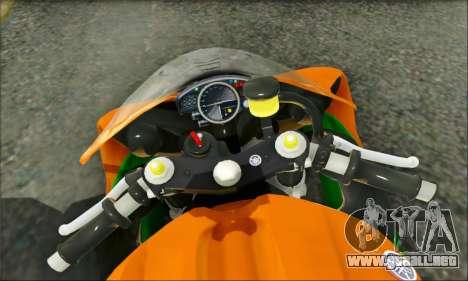 Yamaha R15 para la visión correcta GTA San Andreas
