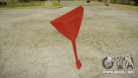 Balalaika para GTA San Andreas segunda pantalla