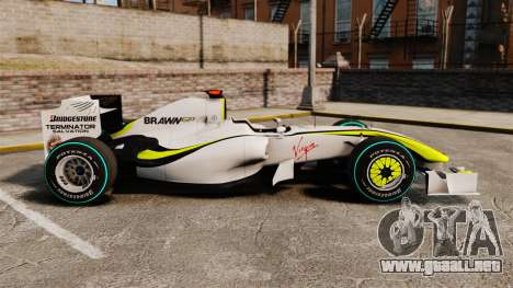 Brawn BGP 001 2009 para GTA 4 left