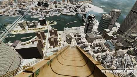 Mega jump para GTA 4 tercera pantalla