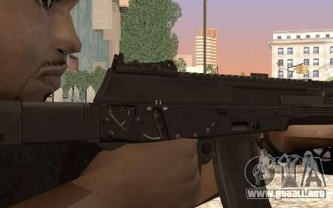 AK12 para GTA San Andreas tercera pantalla