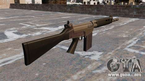 Rifle de batalla FN FAL para GTA 4 segundos de pantalla