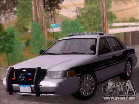 Ford Crown Victoria San Andreas State Trooper para GTA San Andreas left