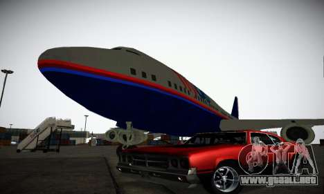 GTA IV Sabre Turbo para vista inferior GTA San Andreas