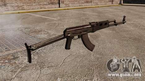 AK-47 v7 para GTA 4 segundos de pantalla