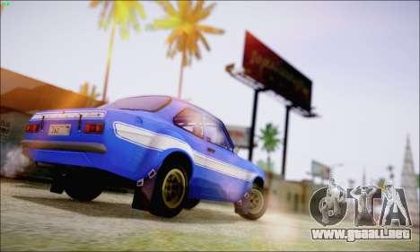 Ford Escort Mk1 RS1600 para GTA San Andreas left