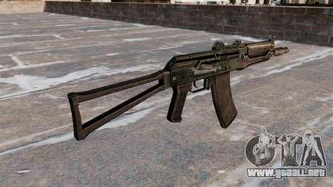 AKS74U automático negro para GTA 4 segundos de pantalla