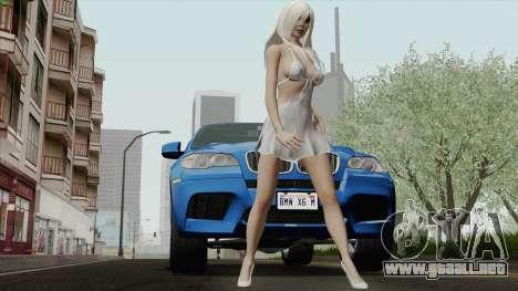 BMW X6M para visión interna GTA San Andreas