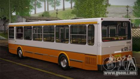 LIAZ piel 5256.00 3-Pack para vista inferior GTA San Andreas