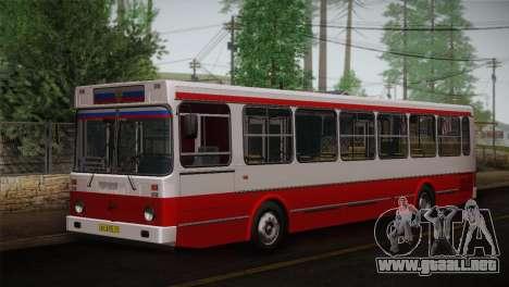 LIAZ piel 5256.00 3-Pack para visión interna GTA San Andreas