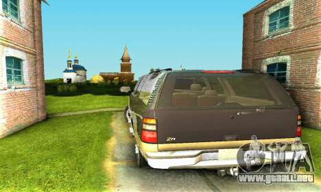 GMC Yukon XL 2003 para la visión correcta GTA San Andreas