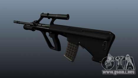 Fusil automático STEYR AUG para GTA 4 segundos de pantalla