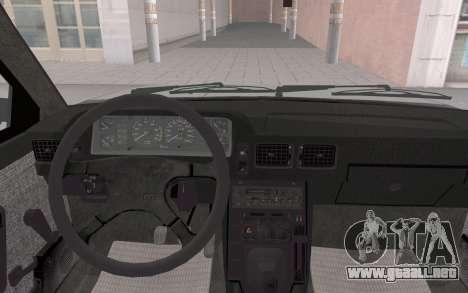 FSO Polonez Atu Orciari 1.4 GLI 16V para GTA San Andreas vista hacia atrás