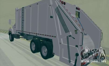 GMC C550 Topkick Trashmaster para la visión correcta GTA San Andreas