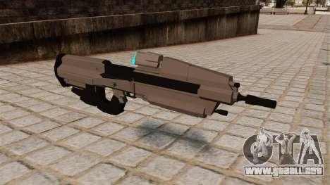 El fusil de asalto de Halo para GTA 4