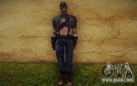 Captain America: First Avenger para GTA San Andreas