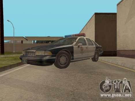 Chevrolet Caprice LAPD 1991 para GTA San Andreas