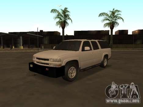Chevrolet Suburban ATTF para GTA San Andreas